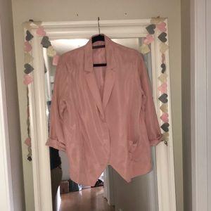 Balenciaga silk blazer
